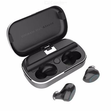 Rowen S8 TWS 5.0 Kablosuz Bluetooth Kulakiçi Kulaklık HD Ses Kalitesi Gri